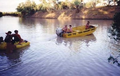 Another popular spot for water activities is the Broadwater