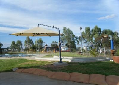 Muttaburra Pool Area