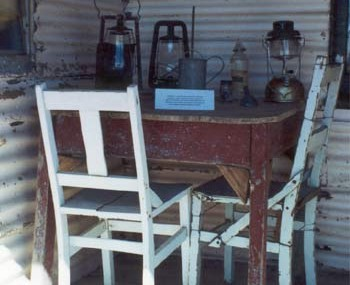 The back verandah