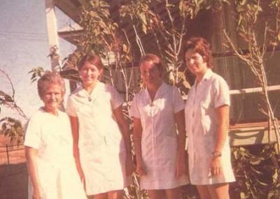 Hospital nurses 1973