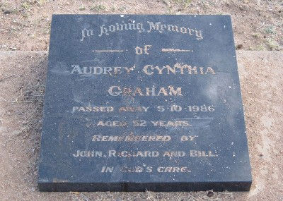 Audrey Graham  - 05/10/1986
