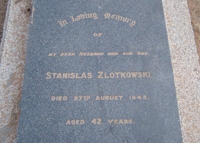 Stanislas Zlotkowski  - 27/08/1942