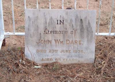 John Dare  - 23/06/1936