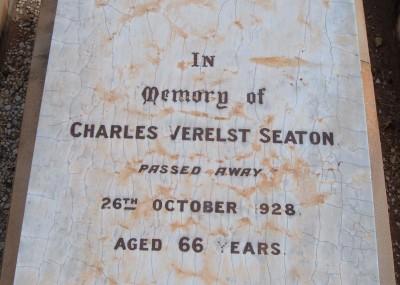 Charles Seaton  - 26/10/1928