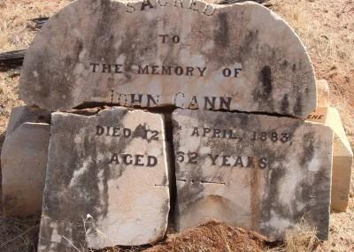 John Cann  - 12/04/1883
