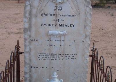 Sydney Mealey  - 21/11/1909