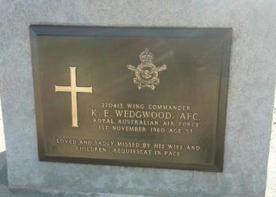 K E Wedgwood plaque