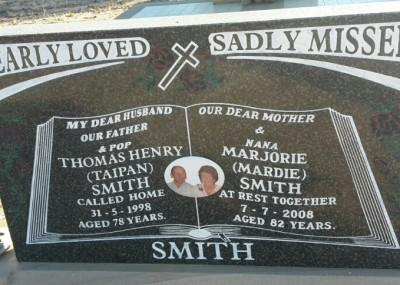 Tom & Mardie Smith