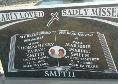 Tom & Mardie Smith