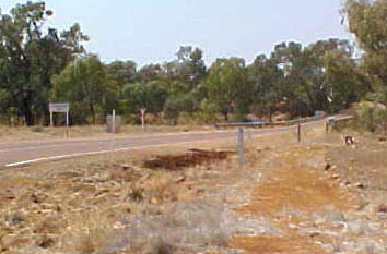 The Landsborough River in 2002 in the middle of a drought.