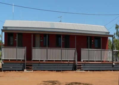 Motel front-view