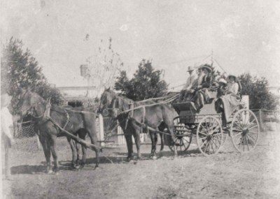 4 Horse Carriage