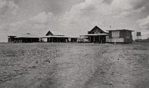 Muttaburra District Hospital in the 1950s