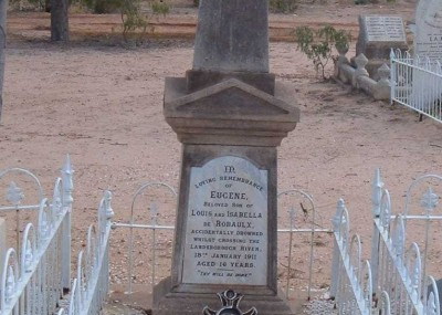 Eugene De Robaulx 14/01/1895 - 18/01/1911