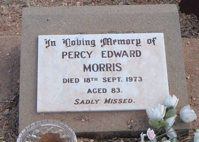 Percy Morris 22/11/1890 - 14/09/1973