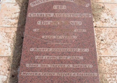 Charles 'Gus' Dickson 11/12/1909 - 15/05/1961