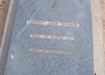 Robert Spence 02/03/1871 - 07/07/1945