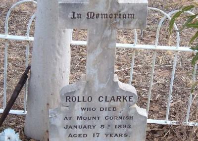 Rowland 'Rollo' Clarke  - 08/01/1893
