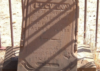 Lucy Devine  - 19/01/1883
