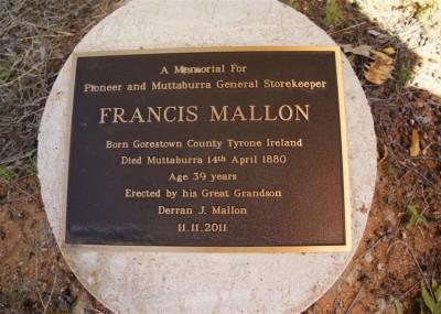 Francis Mallon  - 14/04/1880