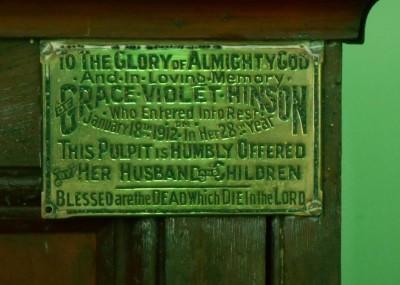 Grace Violet Hinson