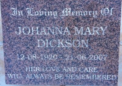 Johanna Dickson
